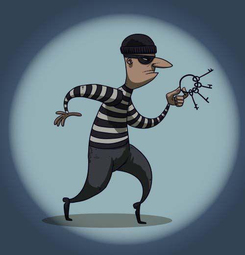 贼心起砸车窗偷钱包,中山一小偷犯案后落入了人民群众的围追堵截