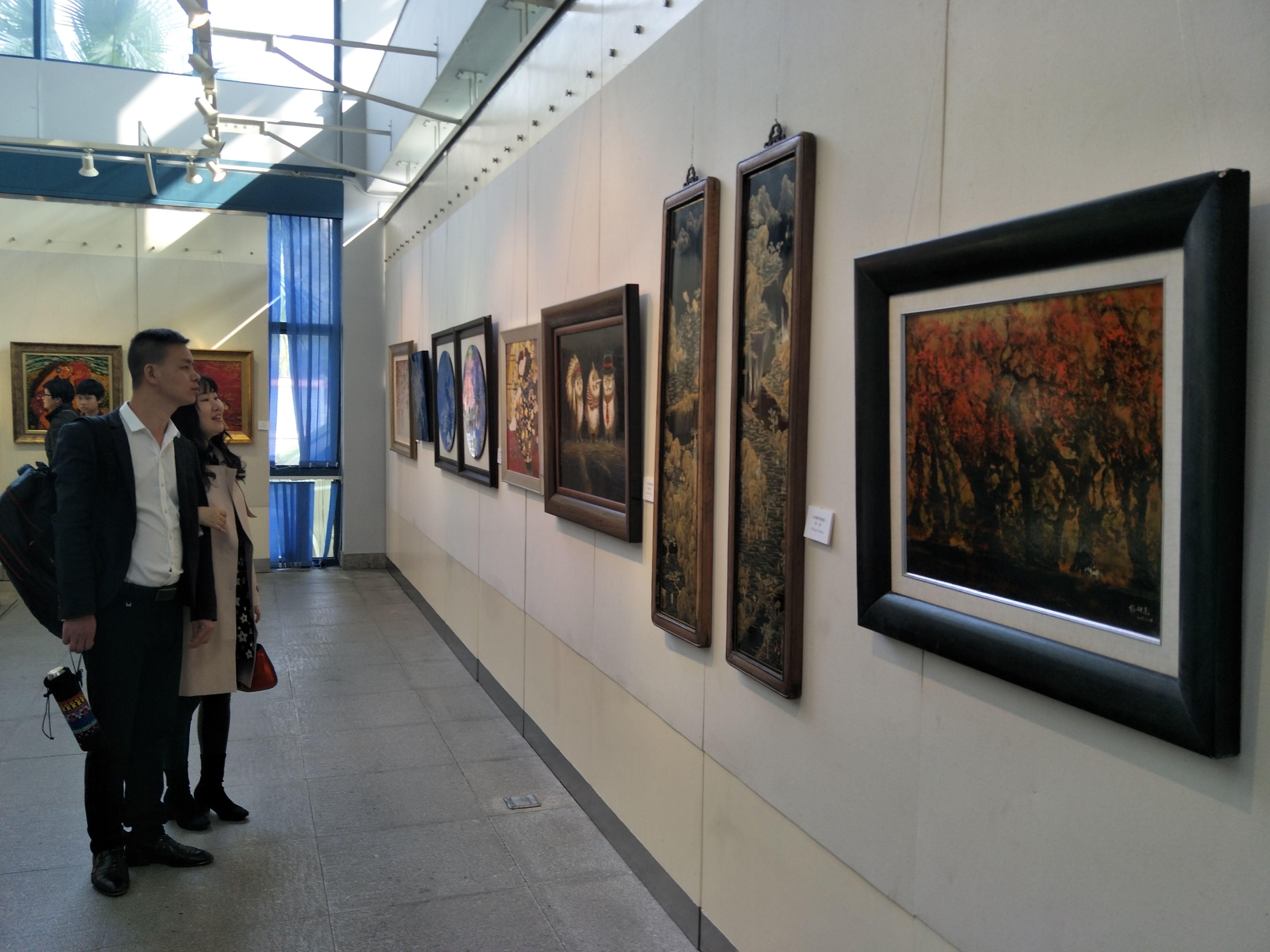 快来围观!中山美术馆漆画季活动今天正式启动!