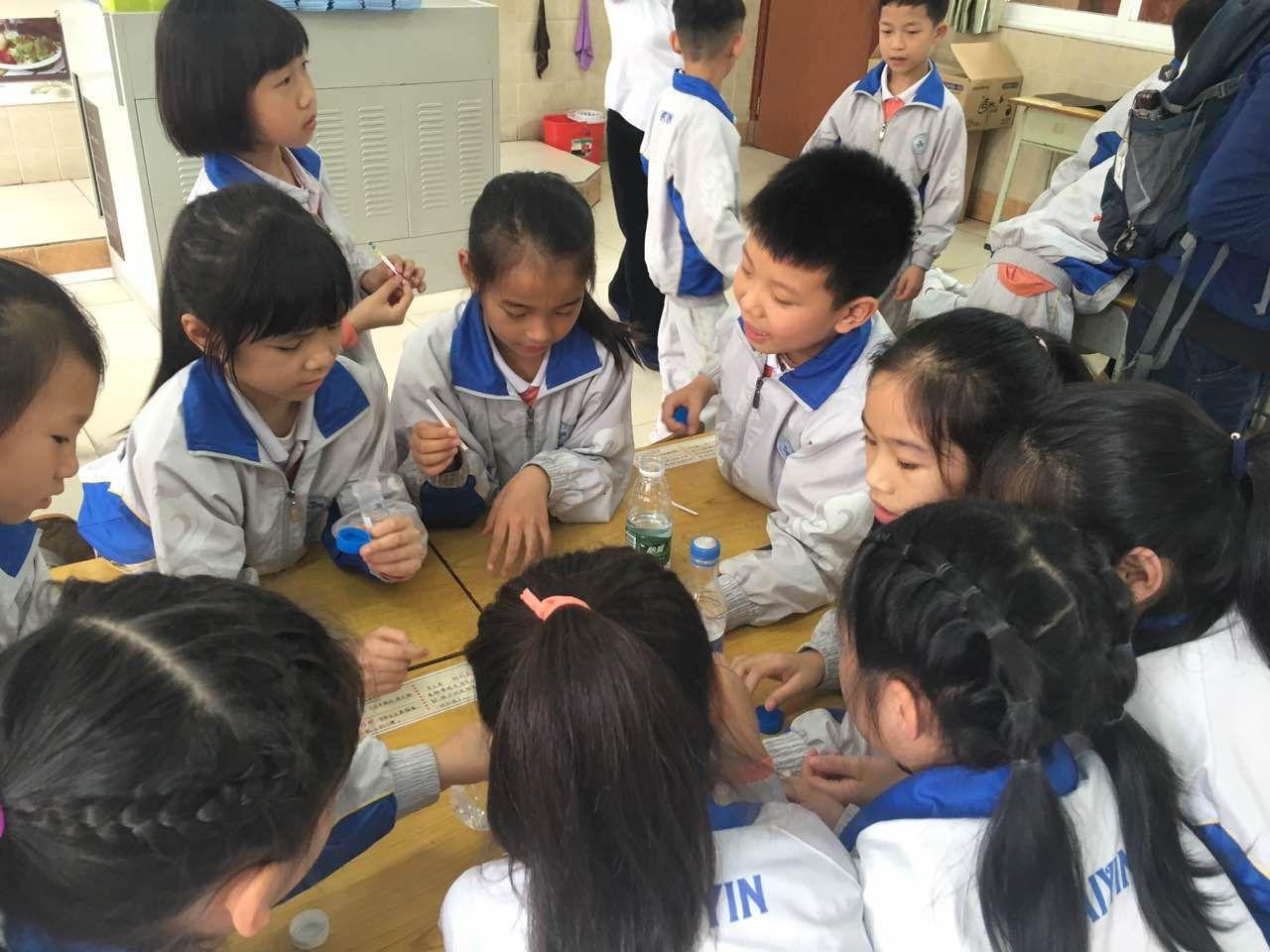 【三乡】水质监测中心走进纪中三鑫凯茵小学,不来调查而是...