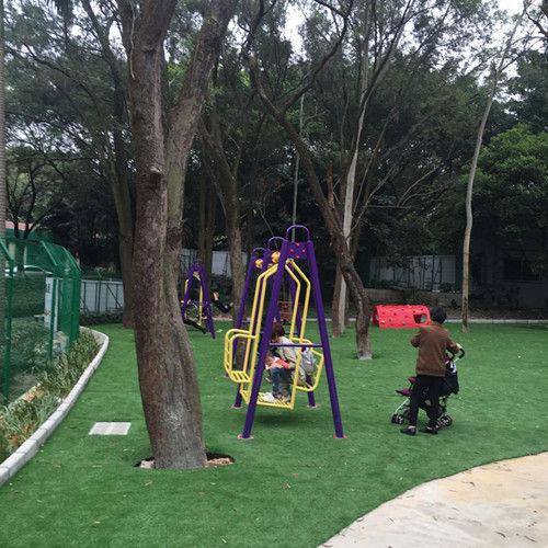 紫马岭公园内的动物园儿童乐园区
