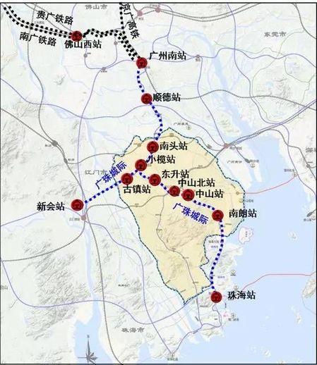 广州地铁18号线正式拿到开工纸,未来将时速160公里穿过中山