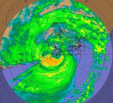 """台风""""天鸽""""在珠海金湾区沿海登陆"""