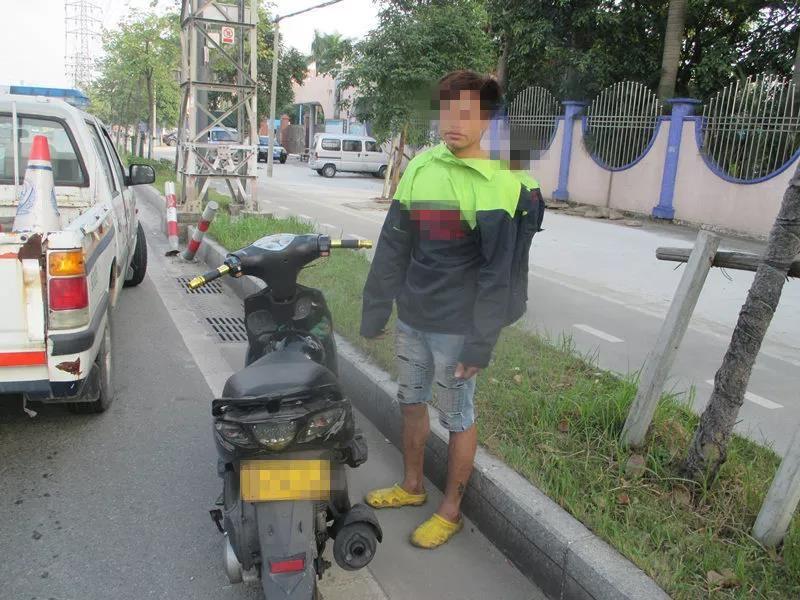 【阜沙】驾乘摩托车不戴头盔,一查竟发现……