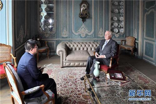 """专访:""""我有幸参与和见证了中国改革开放40年""""——访中国改革友谊奖章获得者阿兰·梅里埃"""