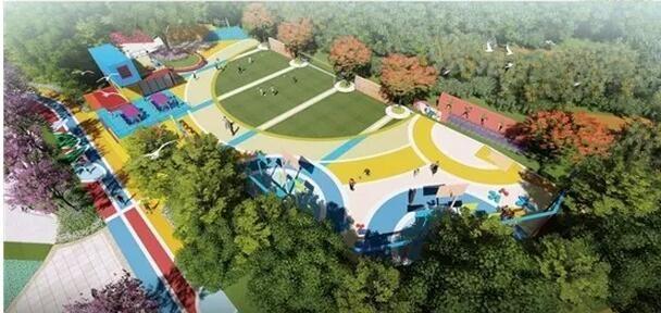 看!这是中山明年启用的24000多平方米的儿童公园!