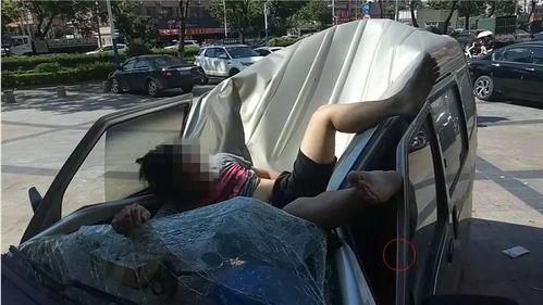 """【坦洲】从高处坠落,面包车成了他的""""救命稻草""""……"""