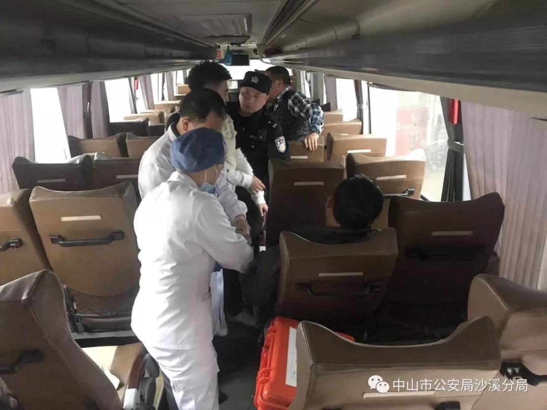 【沙溪】客车上,乘客突发急病,危急时刻发生了这一幕!