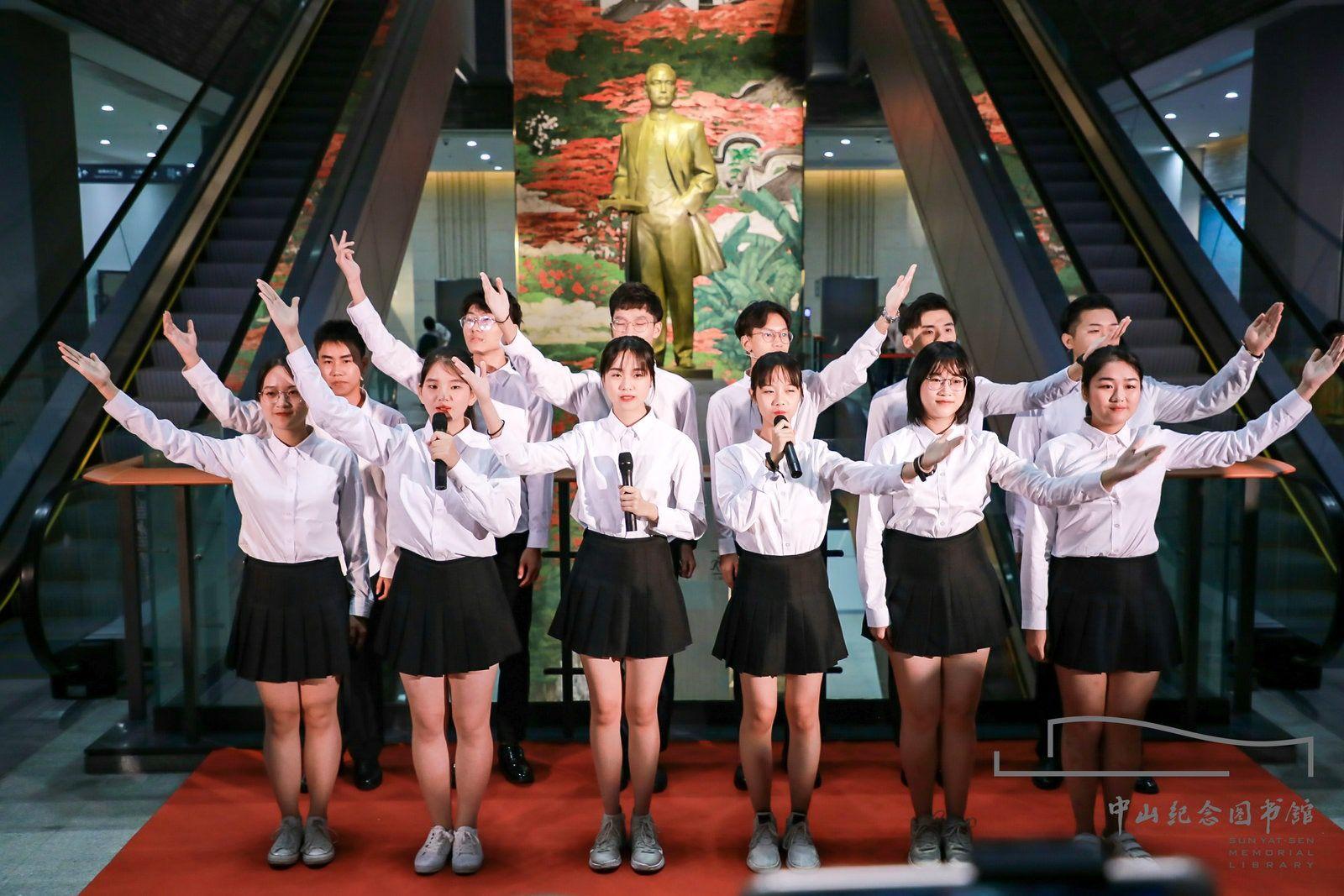"""中山廣播電視臺主持人打造夢幻""""圖書館之夜""""!你錯過了嗎?"""