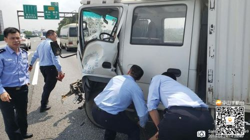 【V眼中山】调研返回途中遇事故伤者,中山10名交警果断停车救人