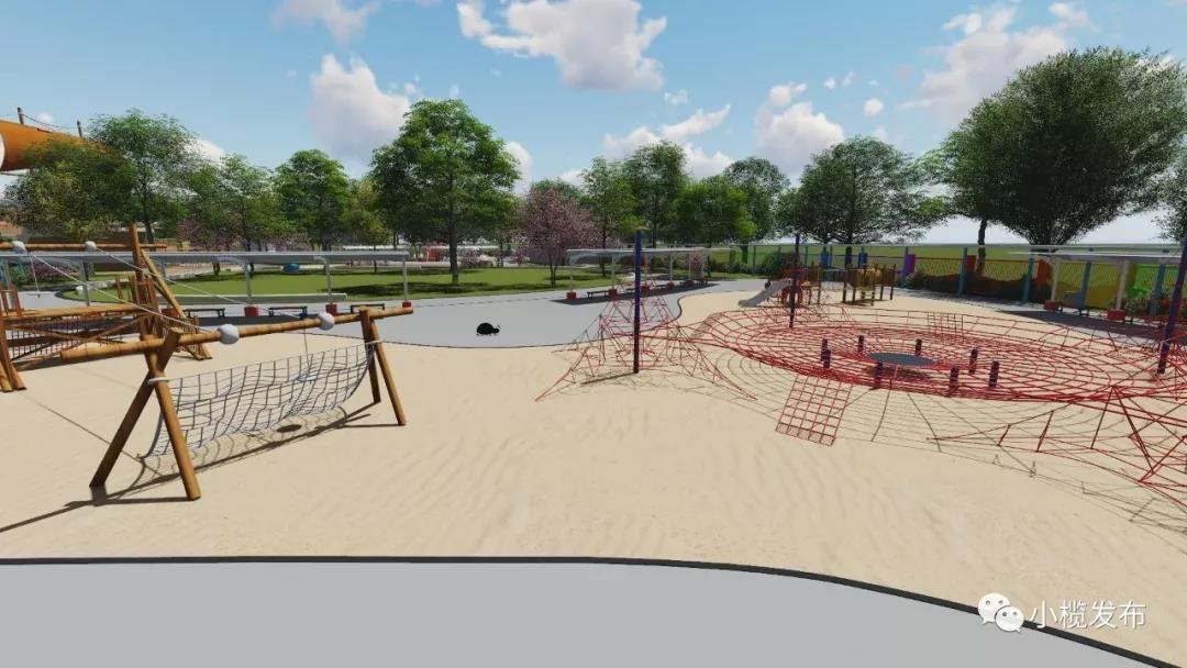 水上樂園、空中騎行……中山又一個兒童公園10月底開放!