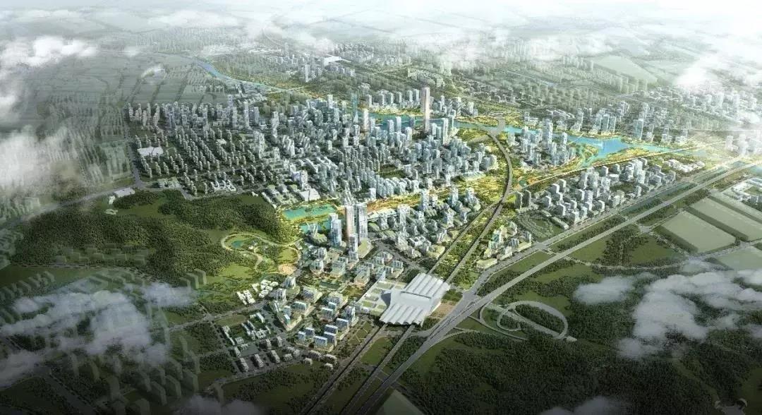 最高建筑不低于480米!中山這里將打造城市新中心,多條軌道線穿過……