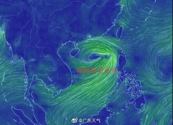 逼近了!中山臺風白色預警生效!暴雨+大風馬上來降溫