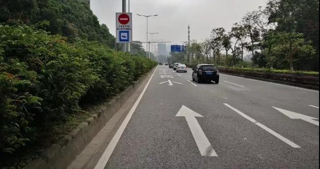 限速60公里!7月15日起,中山又一條主干道設置這種車道,走錯要罰