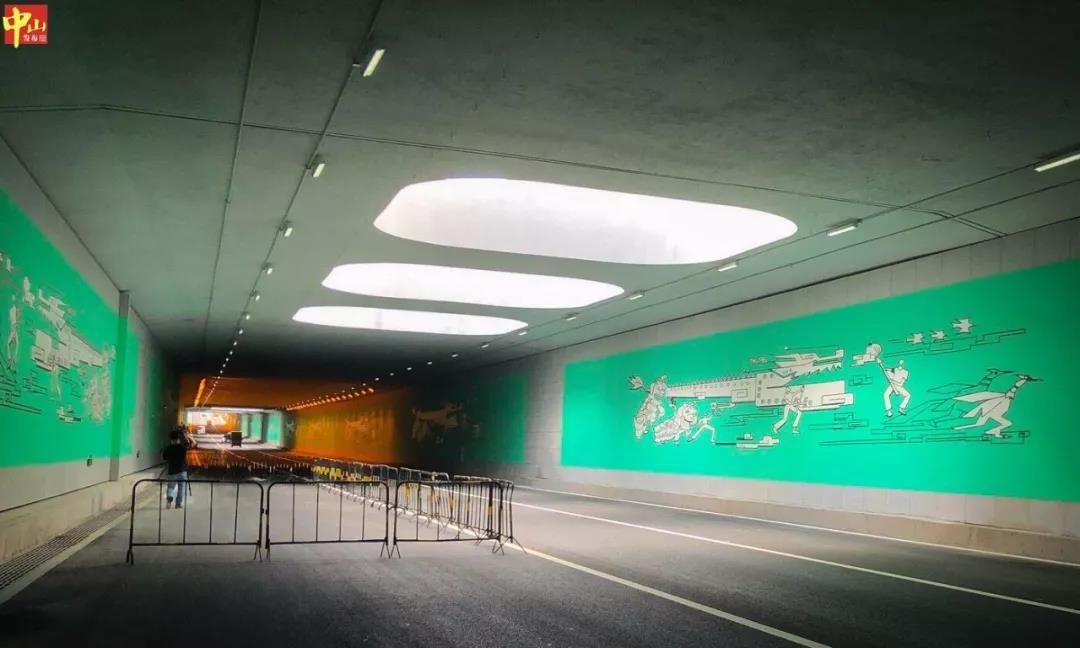 """激動!""""中山最長隧道""""主線試通車,車主能省不少時間"""
