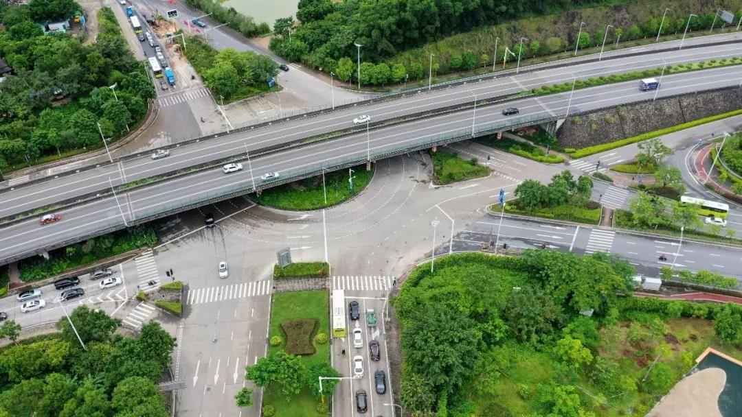 南外環路、起灣道和城桂路交匯處,將建四層互通立交!