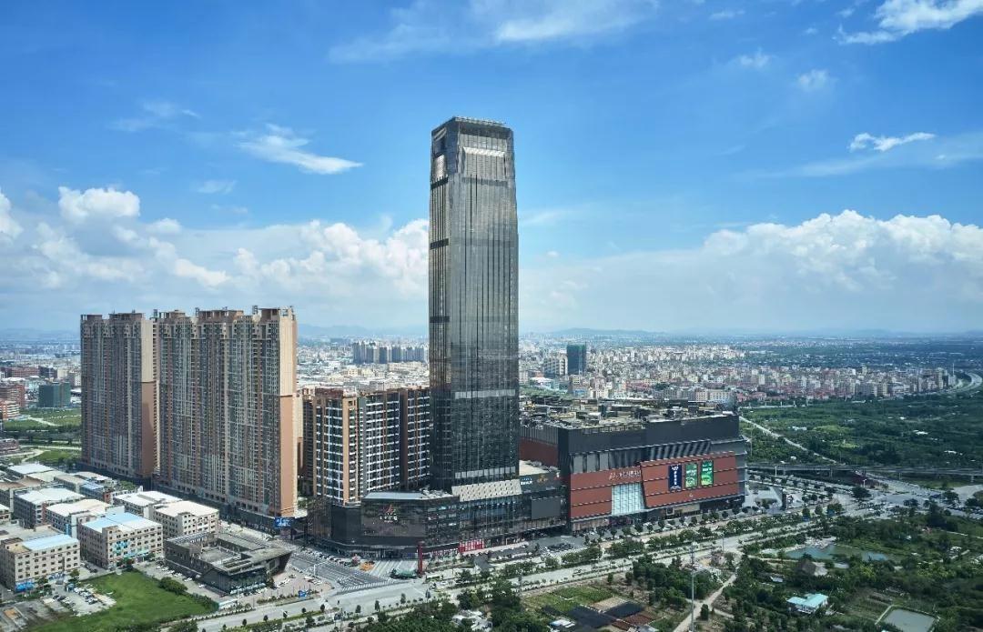 新地标!中山超300米高楼建成开业,你打卡了吗?