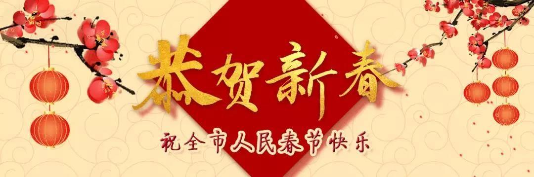 全市人民及广大网友,泽华书记、伟汉市长给您拜年啦!
