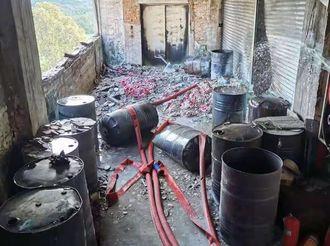 【火炬】危险!中山一橡塑厂非法存储酒精220斤!