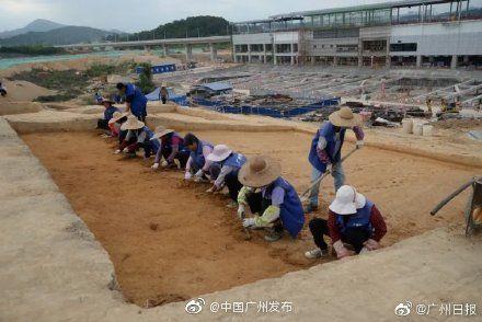 廣州發現4000年前先秦遺址 挖出一大批先秦寶貝
