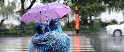 中山暴雨预警升级!