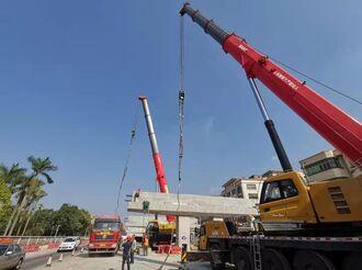 省重点项目国道105改建工程月底全面复工