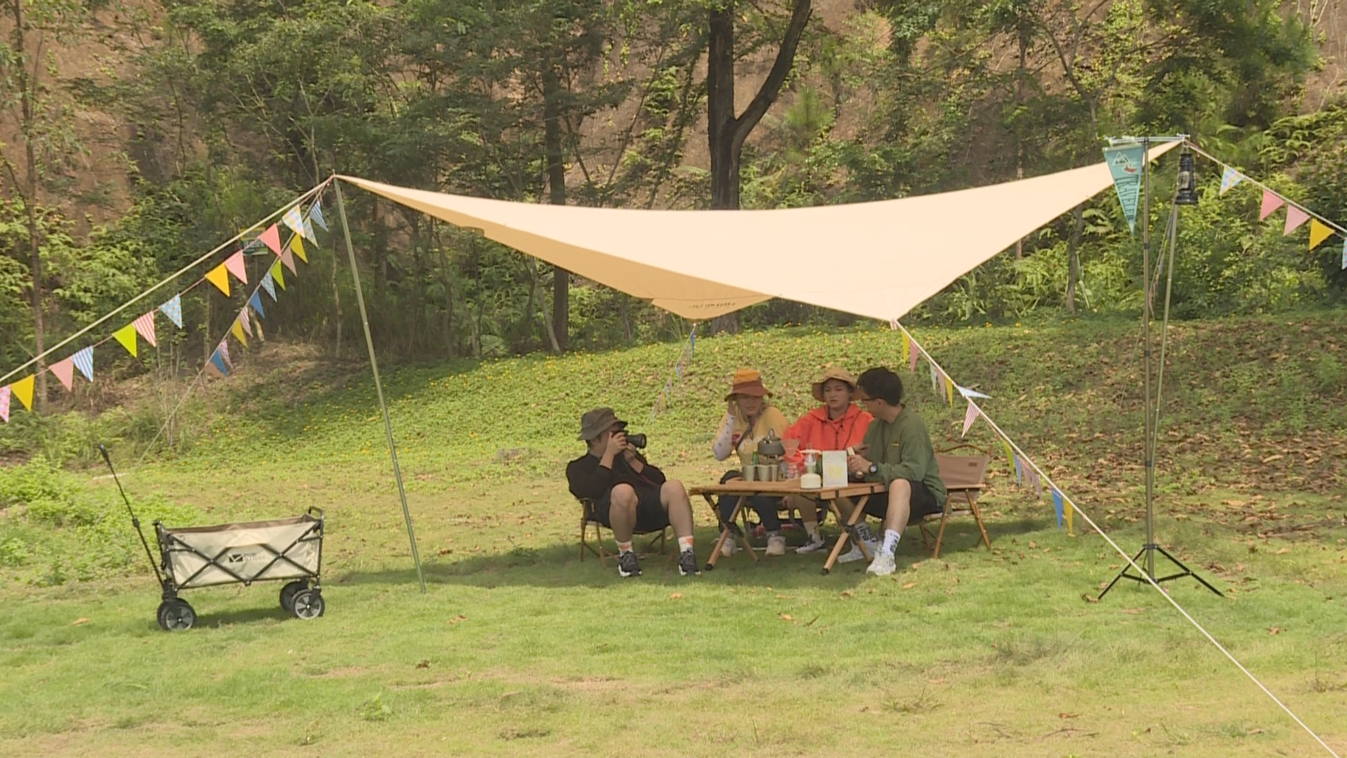 假期来了 到这个国家3A级景区露营去吧