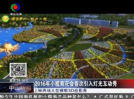 2016年小榄菊花会首次引入灯光互动秀