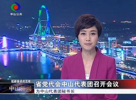省党代会中山代表团召开会议
