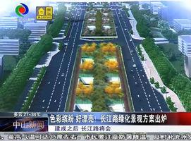 色彩缤纷 好漂亮!长江路绿化景观方案出炉