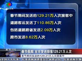 春节假期 全市发送旅客129.21万人次