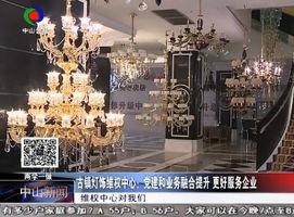 古镇灯饰维权中心:党建和业务融合提升  更好服务企业