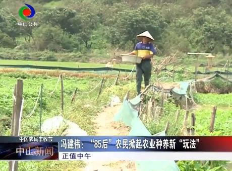 """【中国农民丰收节】冯建伟,""""85后""""农民掀起农业种养新""""玩法"""""""
