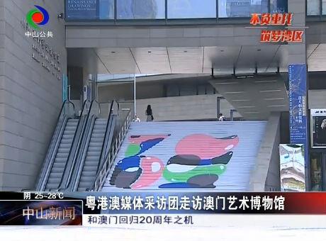 粤港澳媒体采访团走访澳门艺术博物馆