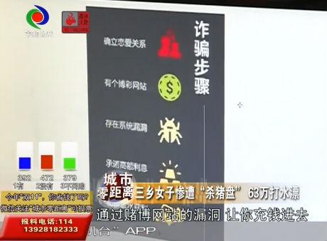 """三鄉女子慘遭""""殺豬盤"""" 63萬打水漂"""