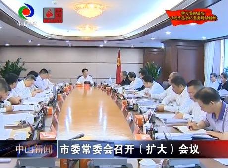 市委常委會召開(擴大)會議