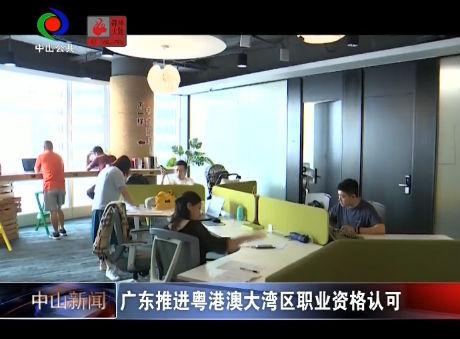 视频丨广东推进粤港澳大湾区职业资格认可
