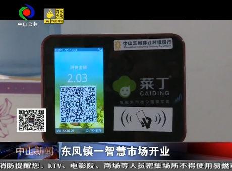 視頻丨東鳳鎮一智慧市場開業