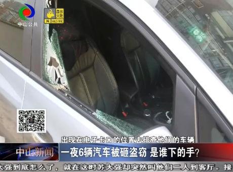 視頻丨一夜6輛汽車被砸盜竊 是誰下的手?