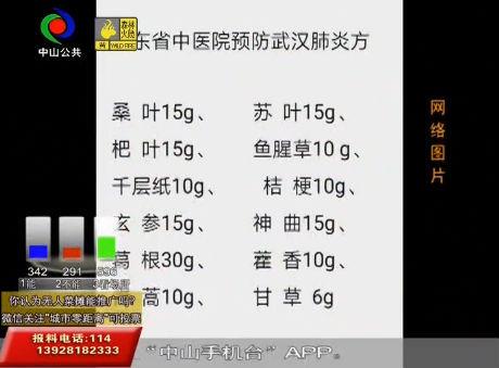 视频丨广东省中医院出预防武汉肺炎良方?假的!